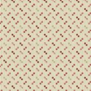 Braveheart by Makower UK - 6644 - Geometric, Pink Squares on Beige Stripes  - 9180_R - Cotton Fabric